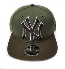 New York Yankees New Era 9Fifty Black & White Logo Field Snapback Hat Cap MLB
