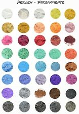 Perlen - Farbpigmente, 47 Farben auch Perlmutt, Epoxidharz, Resin, Lack, 3-10g.