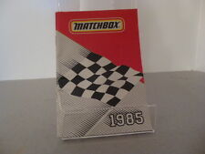 Matchbox lesney series international poche catalogue édition 1985 diecast model