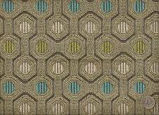 Architex Artesima Taupe Modern Contemporary Honeycomb Geometri Upholstery Fabric