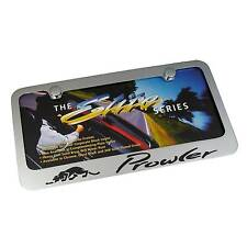 Plymouth Prowler Chrome Brass License Plate Frame