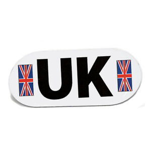 Magnetic UK Vehicle Plate Magnet Euro Travel Driving Abroad Legally Required