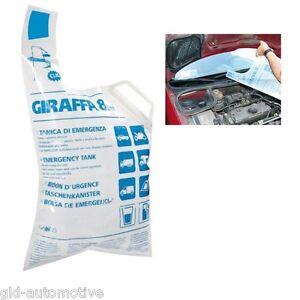 TANICA GIRAFFA 8 Lt acqua Rapid-Clip autobloccante Tanica di EMERGENZA auto