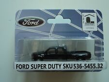 RIVER POINT  2008  FORD F-450 XLT SPORT CREW CAB  DRW  BLUE  1/87 HO PLASTIC