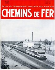 Chemins de fer n°270 Mai-Juin 1968, revue AFAC