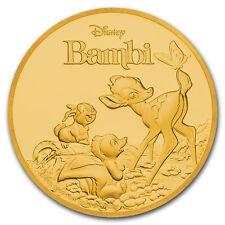2017 Niue 1/4 oz Gold $25 Disney Bambi 75th Anniversary - SKU#153003