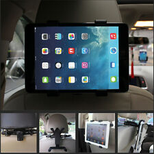 "Black Car Back Seat Headrest Mount Ratating Holder For 7""-10"" iPad Galaxy Tab"
