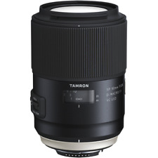 Tamron 90mm F2.8 Sp Vc Di Usd Macro Objectif F017 : Nikon Compatible Avec CC1314