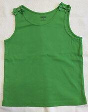 Green Tank Top With Green Grosgrain Ribbon Bows By Gymboree Sz 6