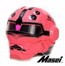 Masei 610 Acguy Gundam Char Zaku Chopper Flip-Up Bike Motorcycle Helmet