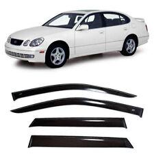 For Lexus GS II 1997-2004 Window Side Visors Sun Rain Guard Vent Deflectors