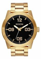 Nixon Corporal SS Watch All Gold/Black NEW in box