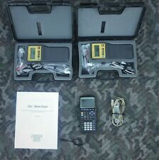 Texas Instruments Ti83 Plus + Cbl Laboratory Data Acquisition system w / cables