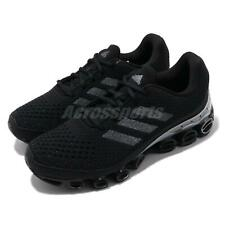 adidas MicroBOUNCE Black Grey Silver Men Running Shoes Sneakers Trainers FX7700