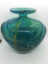 More details for mdina shoulder vase green & yellow 1.3 kg