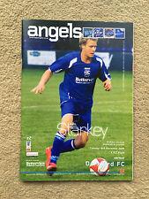 Tonbridge Ángeles V rabilarga-Ryman Liga Premier Div 2008/09 programa
