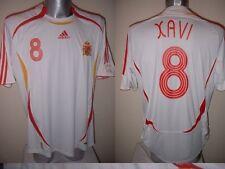 Espagne espana xavi shirt jersey football soccer adidas adulte m barcelone 2006 w