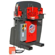 BRAND NEW EDWARDS 55 TON IRON WORKER - PLUS 9 ROUND PUNCH & DIE SETS -TOP SELLER