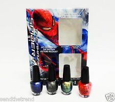 Mini Spiderman - OPI Nail Polish Color Mini Series  4ct/pk