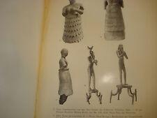 Sculpture, human figures, Sumerian, Akkadian ancient art, in German 1960
