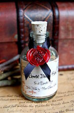 WITCHES  Elemental  HERB MIX in a Cute Potion Bottle Altar Wicca Incense Pagan