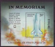 HUNGARY - 1986. Challenger Astronauts Commemoration S/S-MNH