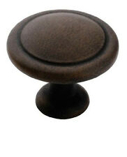 "Amerock BP1387-ART  1 1/4"" Antique Rust Reflections Cabinet Drawer Knob Pull"