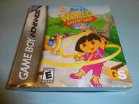Dora The Explorer: Dora's World Adventure  (Nintendo Game Boy Advance, 2006) NEW