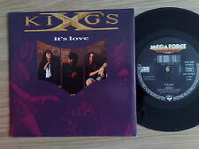 "KING'S X - IT'S LOVE - 45 GIRI 7"" GERMAN PRESS"