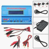 iMAX B6 Digital LCD RC Lipo NiMh NiCD Battery Balance Charger Adapter ACDC Blue