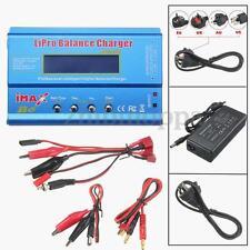 iMAX B6 LCD Screen Digital RC Lipo NiMh Battery Balance Charger + AC Adapter New