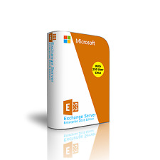 Exchange Server 2016 - Enterprise Edition 64 Bit, Complete with 250 User CALs