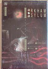 1989 Dc Comics Batman Arkham Asylum Hc 1St Print Grant Morrison Dave McKean Mint