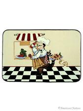 26 X 17 Fat French Mats Chef Kitchen Mat Rug Bistro Chefs Decor