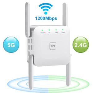Répéteur Wifi 1200mbps Routeur Amplificateur Sans Fil Extensions Booster Signal
