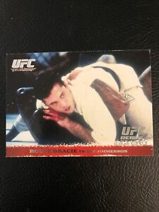 Royce Gracie UFC Rookie Card RC 2009 Topps Round One 1
