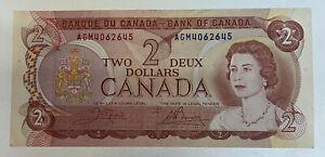 Bank Of Canada 1974 2$ note Ottawa