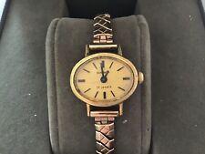 Vintage Ladies (Stamped Au - Plated?) Sekonda 17 Jewels Wristwatch - Working