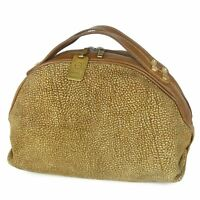 Sale! Borbonese Redwall Vintage Leather Hand Bag Italy F/S 9306b