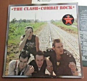 "The Clash - Combat Rock 12"" vinyl record 1982 release"