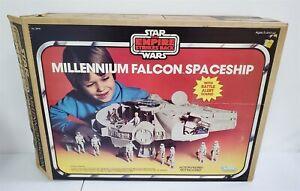 C180 VINTAGE 80'S KENNER STAR WARS ESB MILLENNIUM FALCON SPACESHIP W/ ORIG. BOX