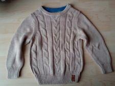 Pullover mit Zopf Muster  Gr.98 104 Neu  von H&M