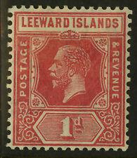Leeward Islands  1921-32  Scott # 63b  Mint Lightly Hinged