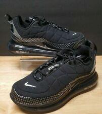 NEW Nike Air Max MX-720-818 GS Black Metallic Silver Size 4.5Y / 6 Wmn CD4392-00