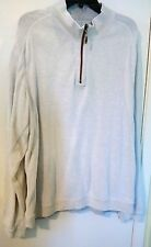 Tommy Bahama Men's Sweater Pullover 100% Cotton Size XL