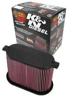 K&N E-0785 Drop In Air Filter 2008-2010 Ford F250 F350 F450 F550 6.4L Diesel