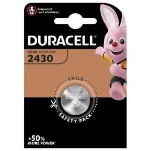 Pile CR2430 Duracell Bouton Lithium 3V