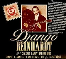 """Django Reinhardt """"The Classic Early Recordings in Chronological Order"""" 5 CD's"""