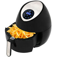 1400W Electric Air Fryer Low-Fat Digital Touch Screen Timer Temperature Control