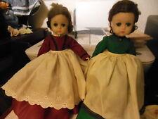"TWO Madame Alexander 11.5"" Lissy  Little women Marme"